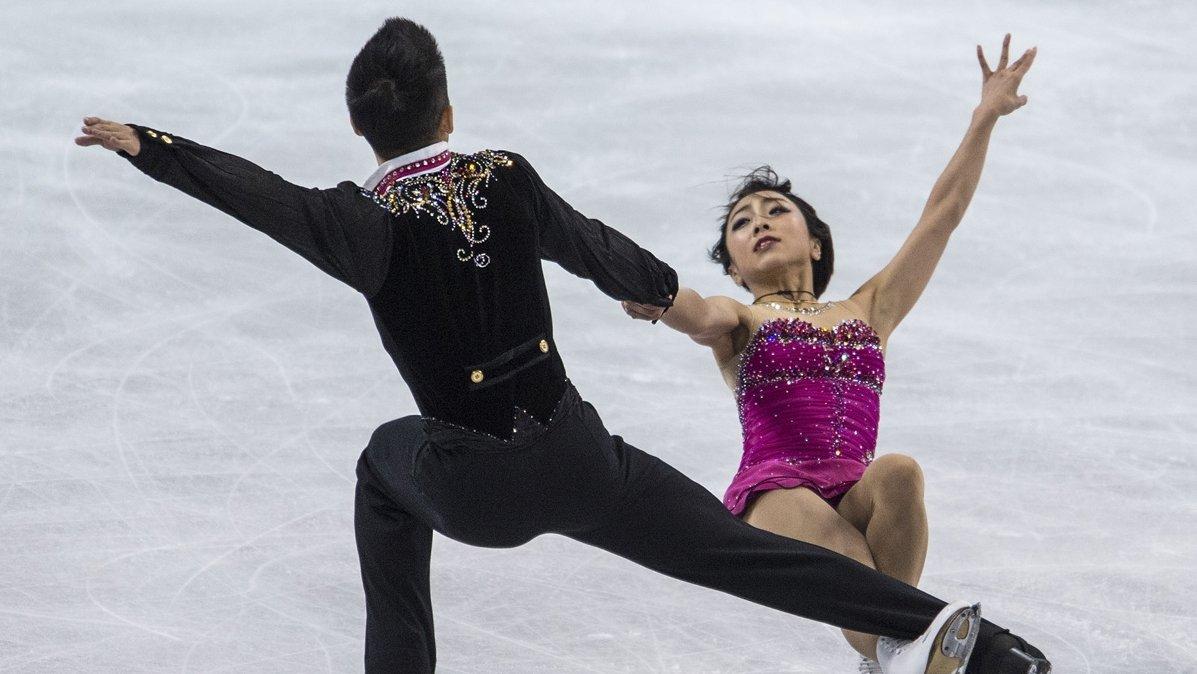 канада фигурное катание пара спортивные танцы смотреть шлюшка