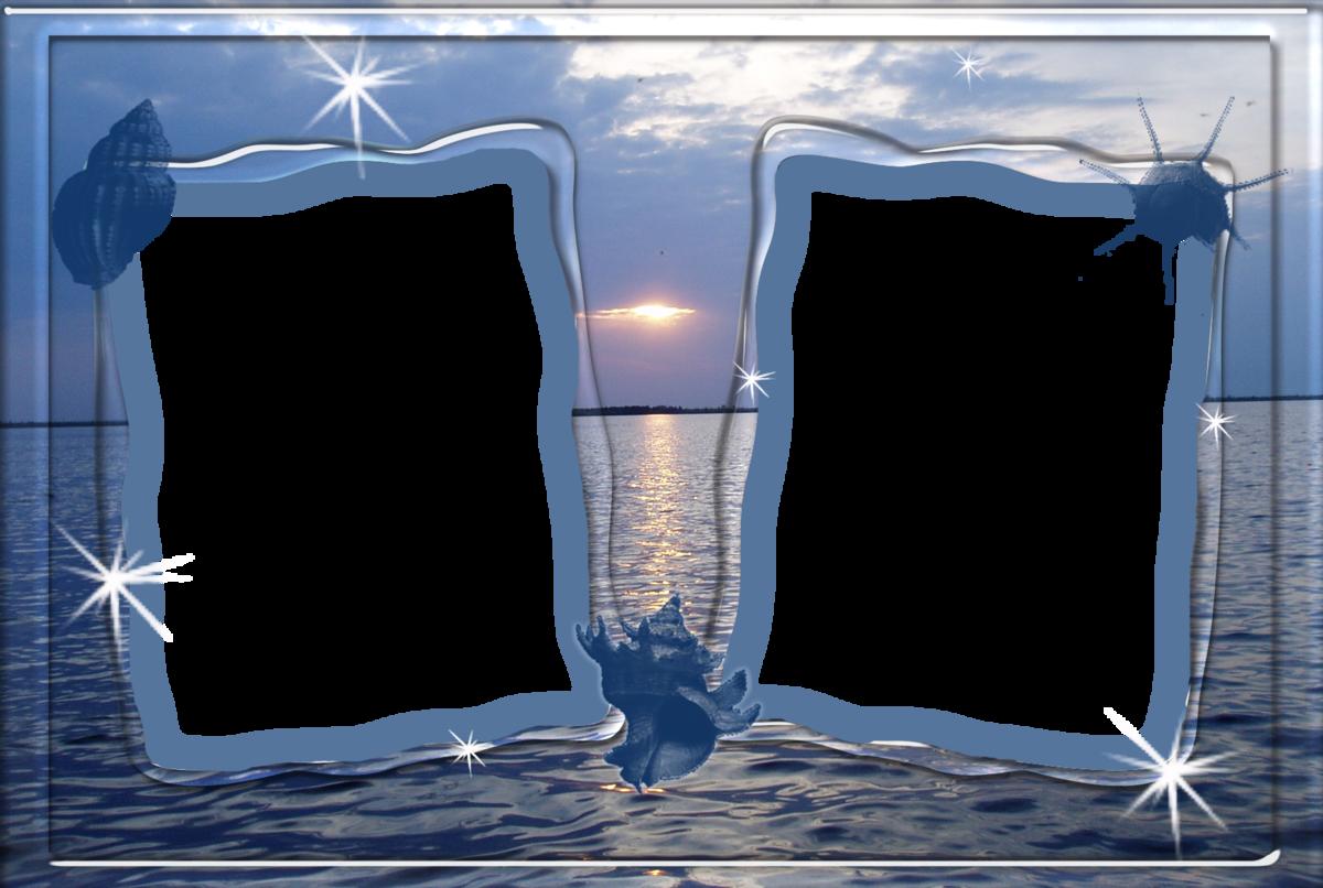 Фоторамка морская вставить фото