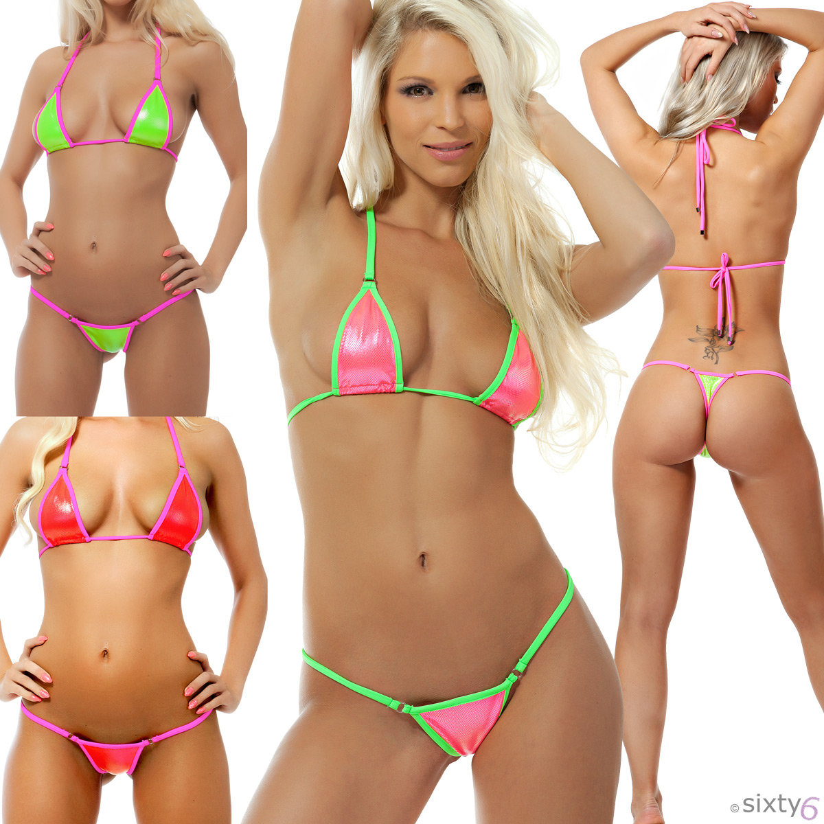Barely string bikini pictures