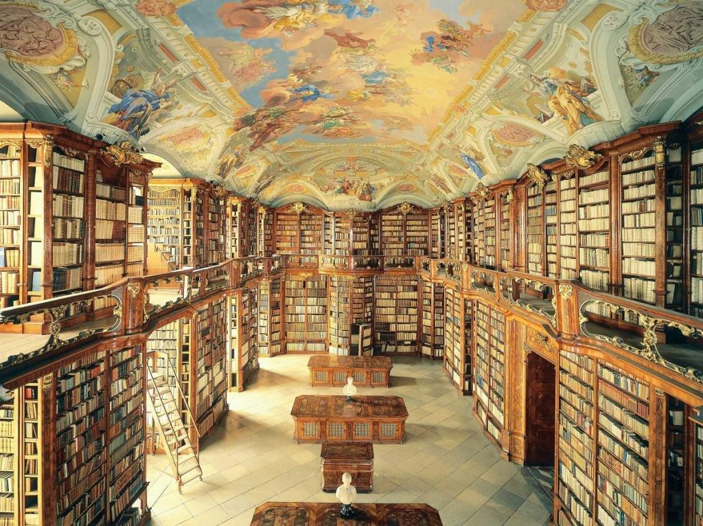 картинка первой библиотеки в мире дополнит