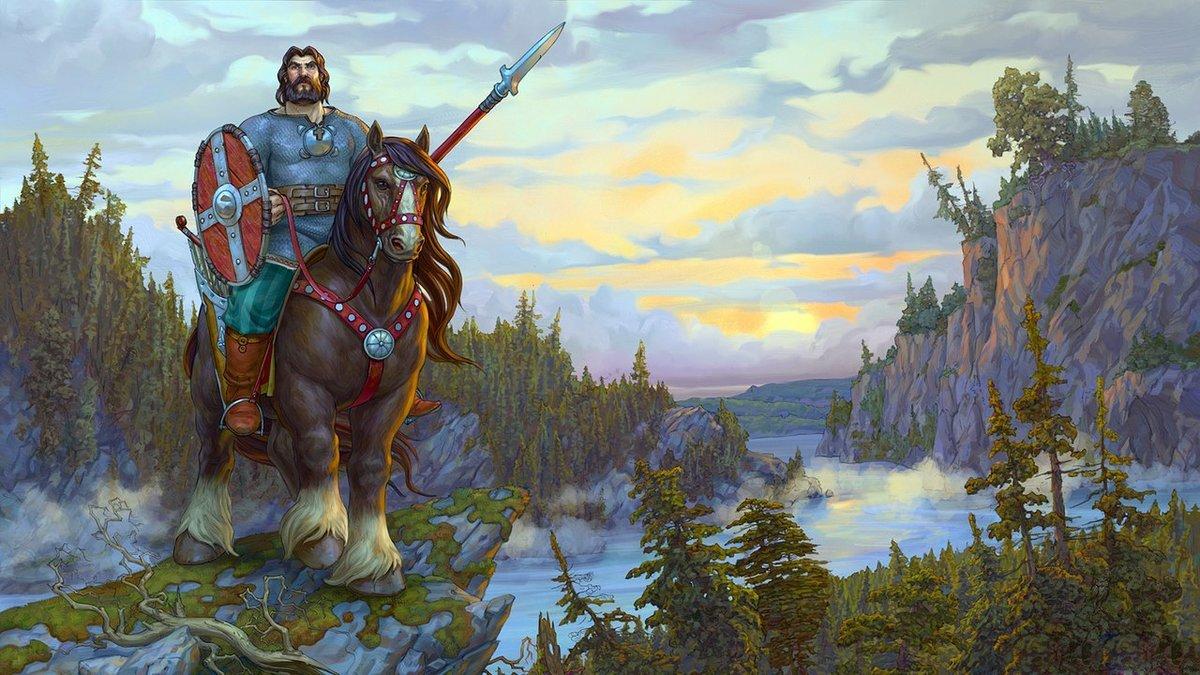 Картинки богатырей русских