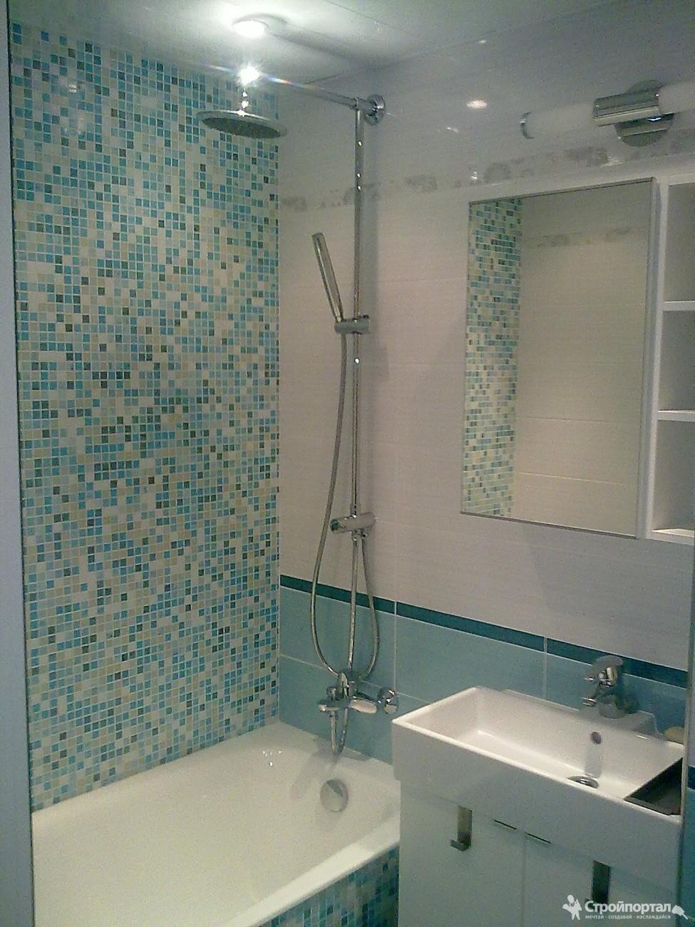 Ремонт ванной комнаты видео допускаете