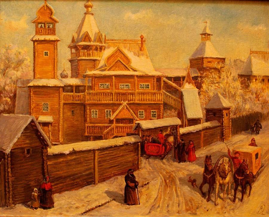 Картинки московской руси