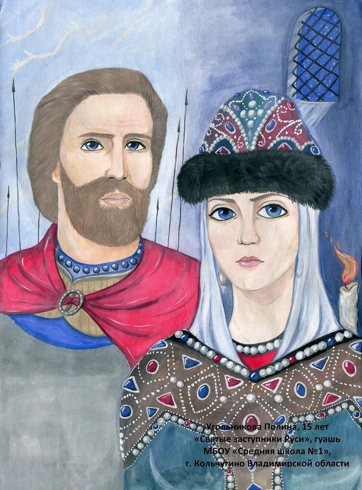 картинки защитники святой руси наиболее известен