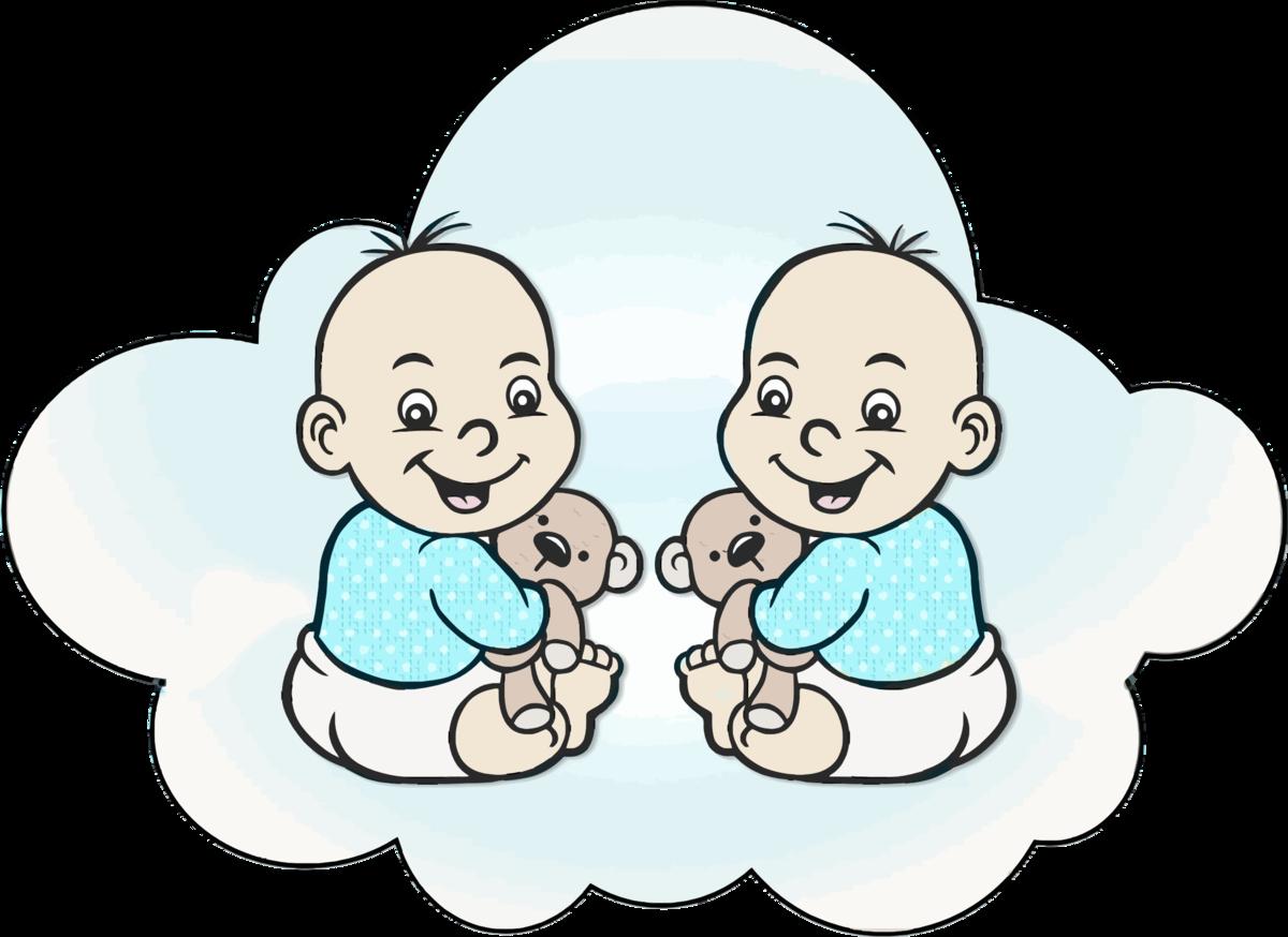 Открытки с днем рождения двойняшкам