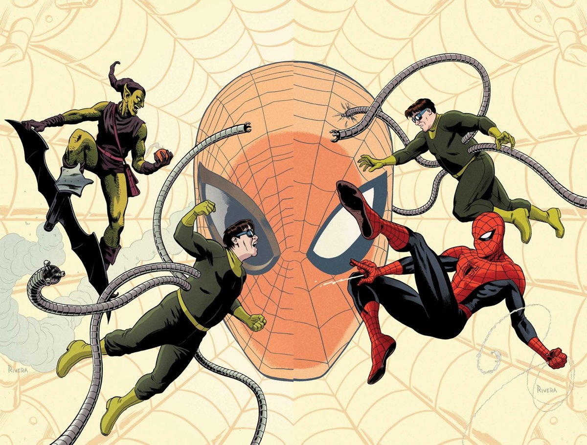 Все герои из человека паука картинки
