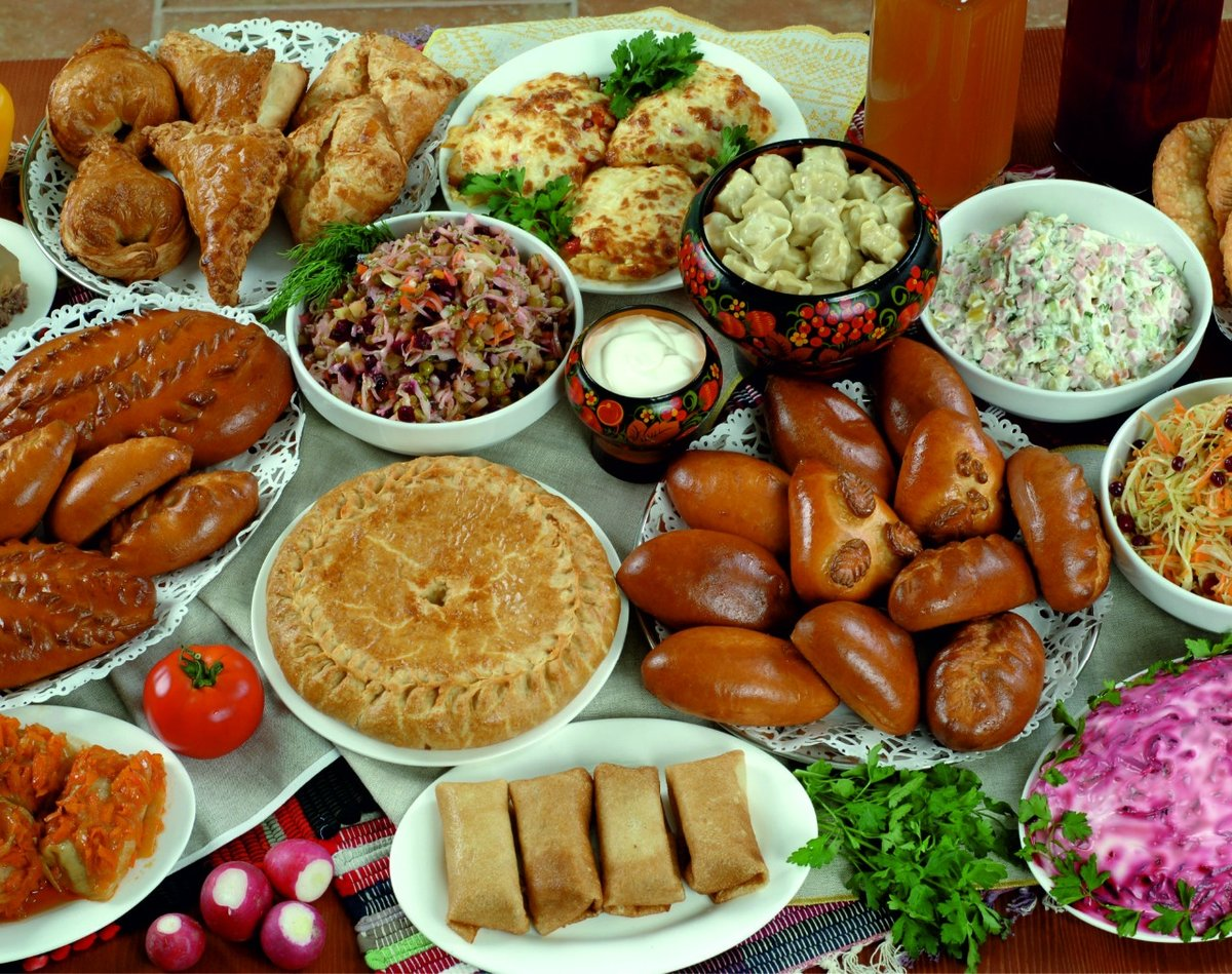 Раскраски, картинки русская кухня фото