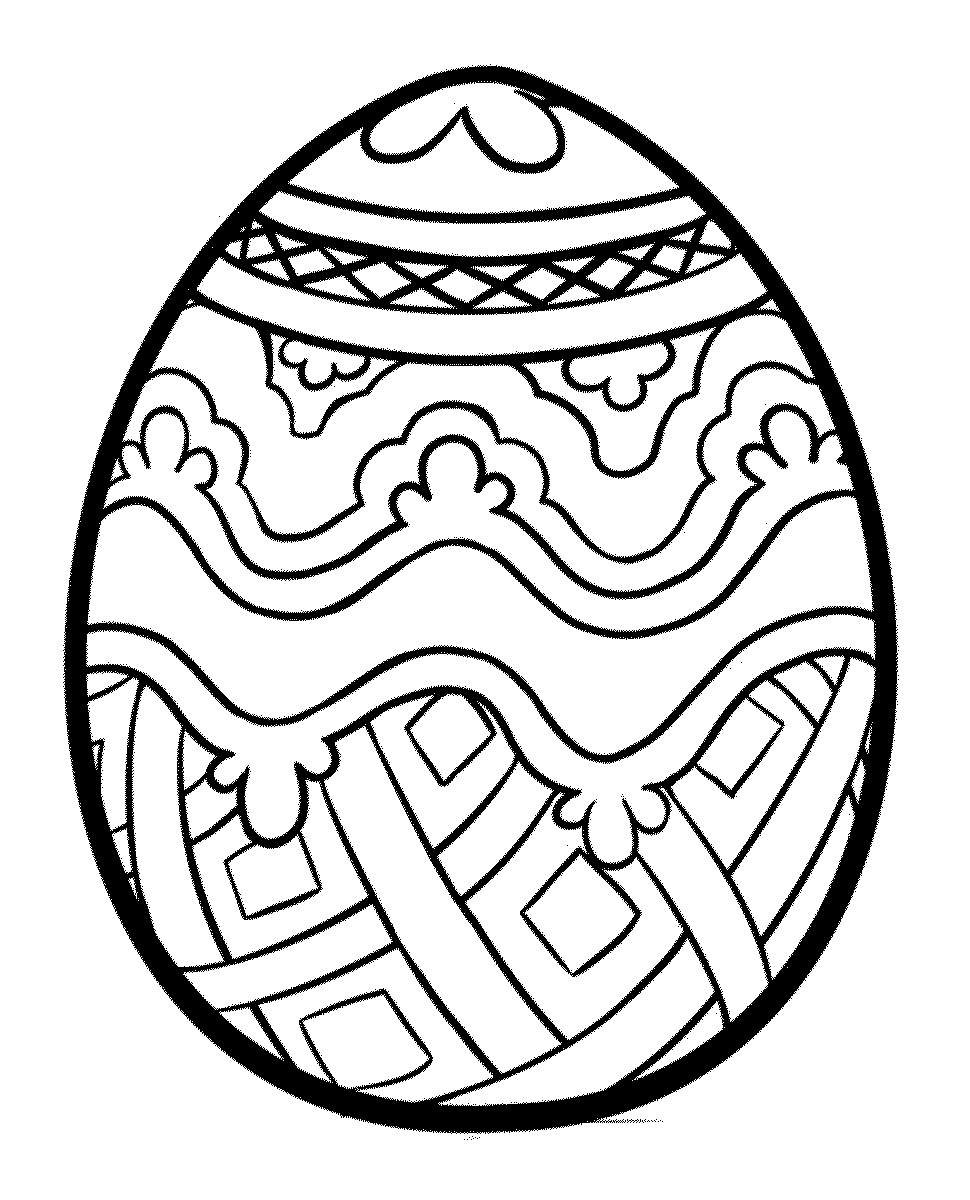 Раскраска на пасху яйцо, москвой дизайн