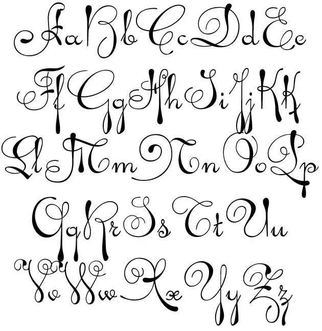 Новым годом, красивый шрифт картинки большие и маленькие