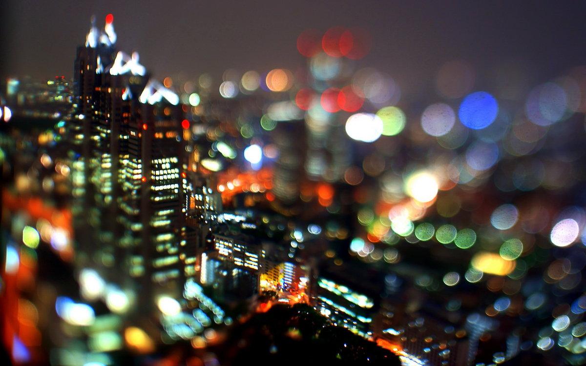 на каком режиме фотографировать ночные огни города уже третий год
