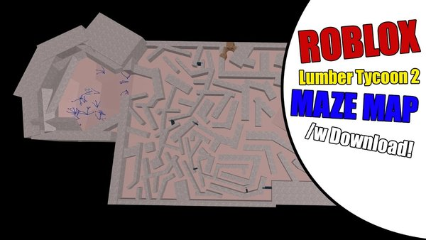 Roblox Lumber Tycoon 2 Maze Map W Download New Map On