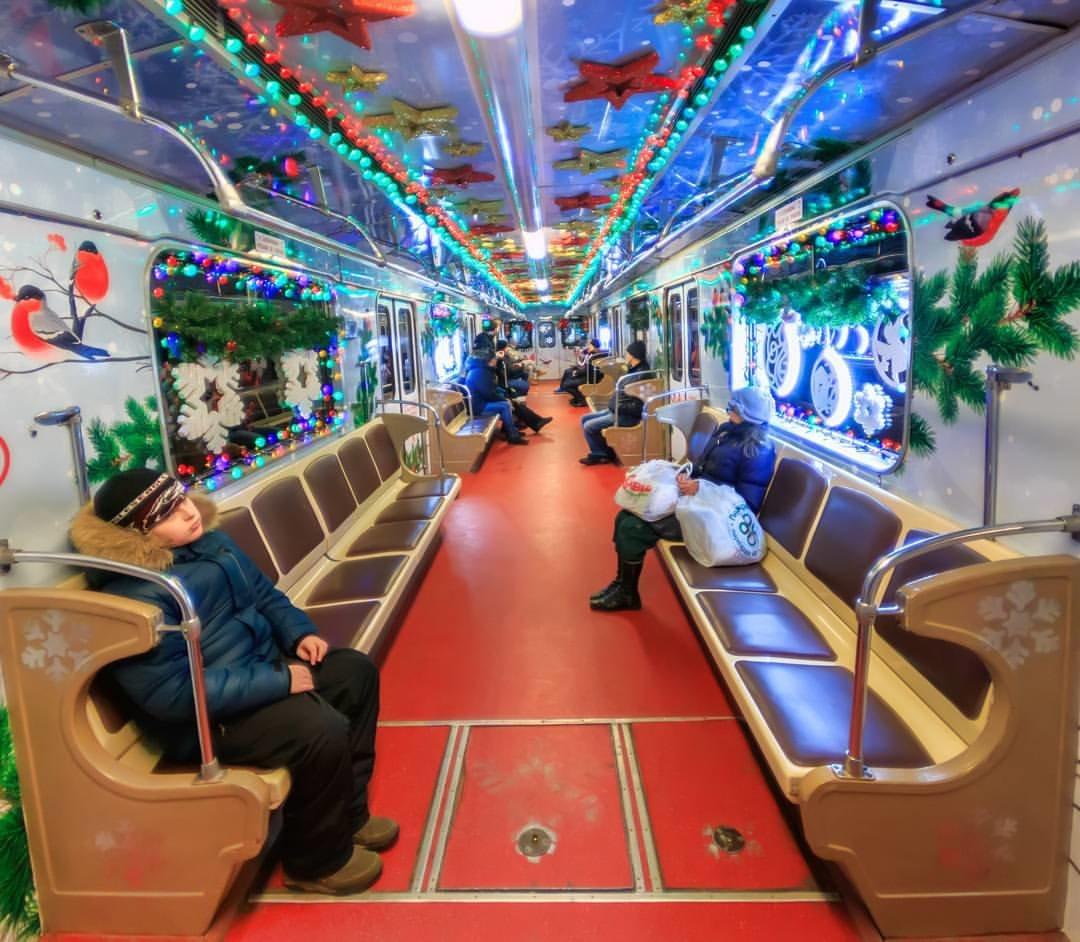 того, плодах новогодний вагон в метро фото это видимо
