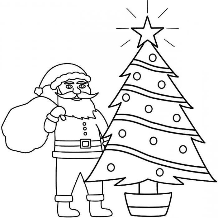 Как нарисовать открытку с новым годом