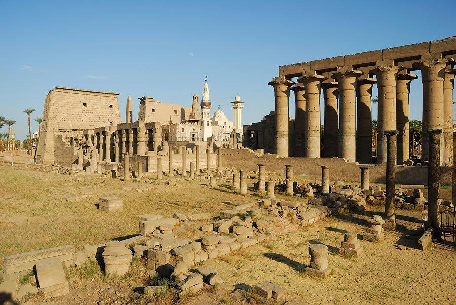Луксорский храм картинки