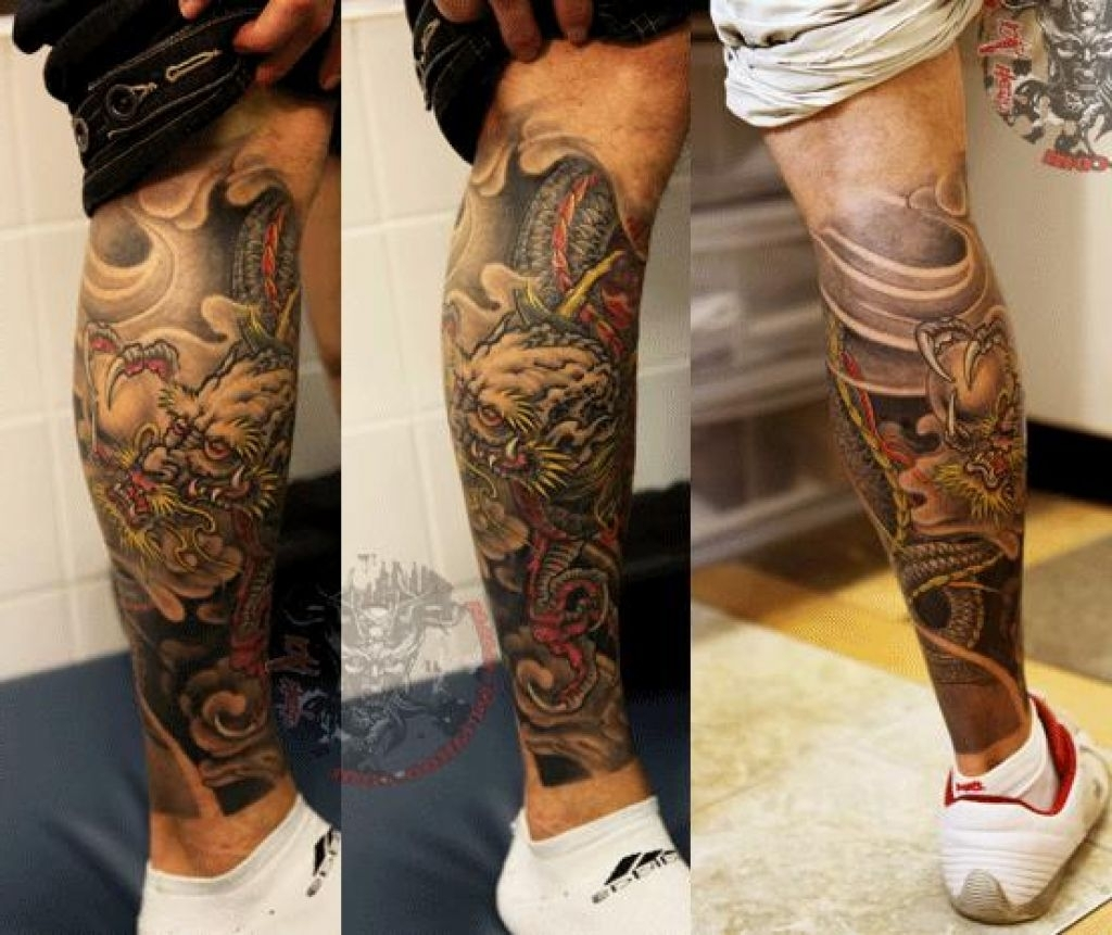 Tattoo Designs For Men Legs Tattoo Fantastic Card From User