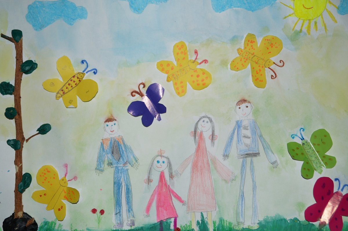 Надписи, рисунок к дню защиты детей детство