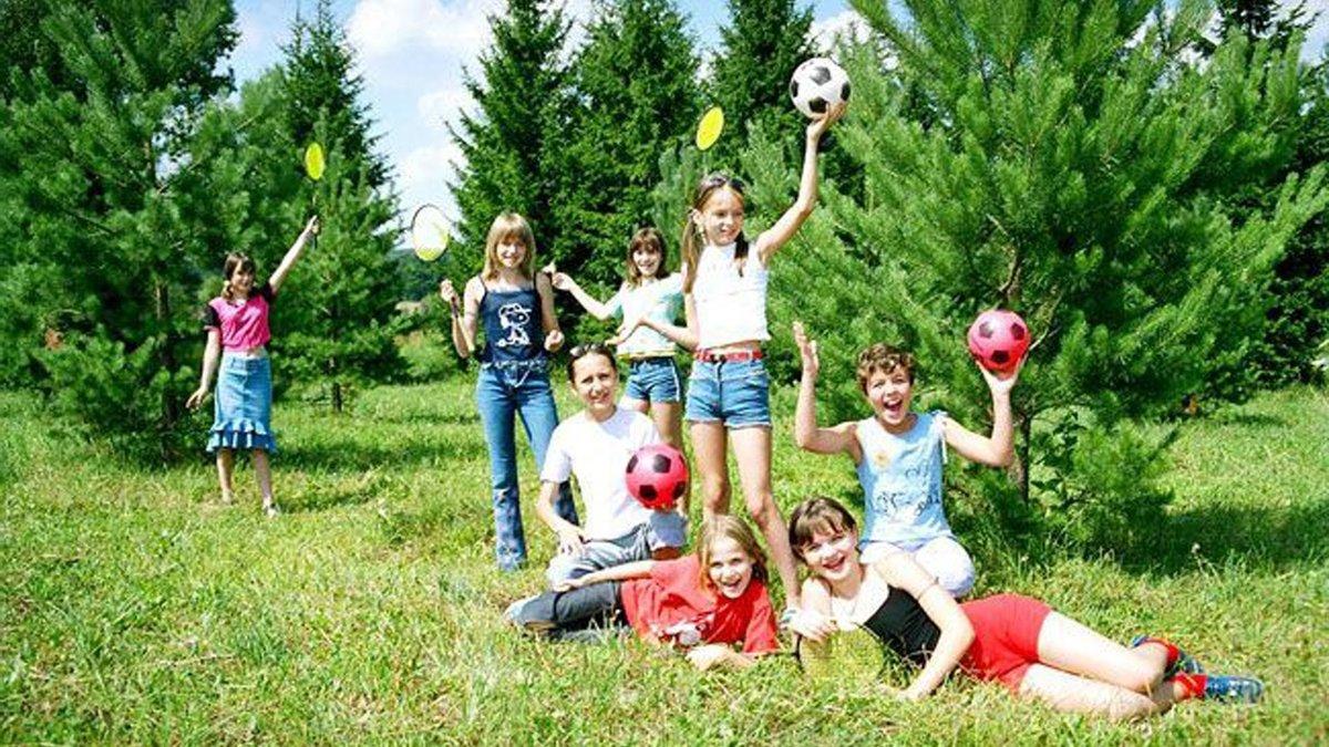 День пожилого, картинки дети на природе отдыхают