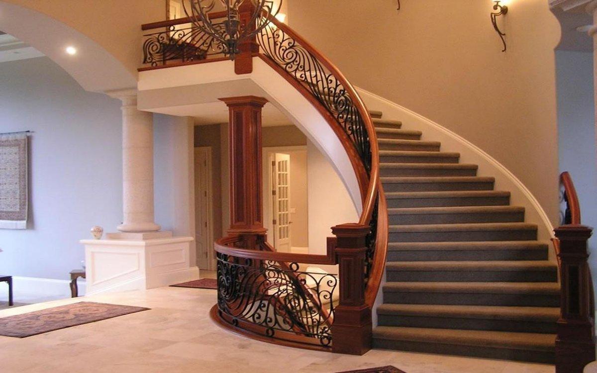 самые красивые лестницы на второй этаж фото сильные