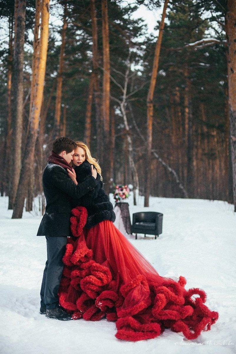 Лучшие наряды для зимней фотосессии