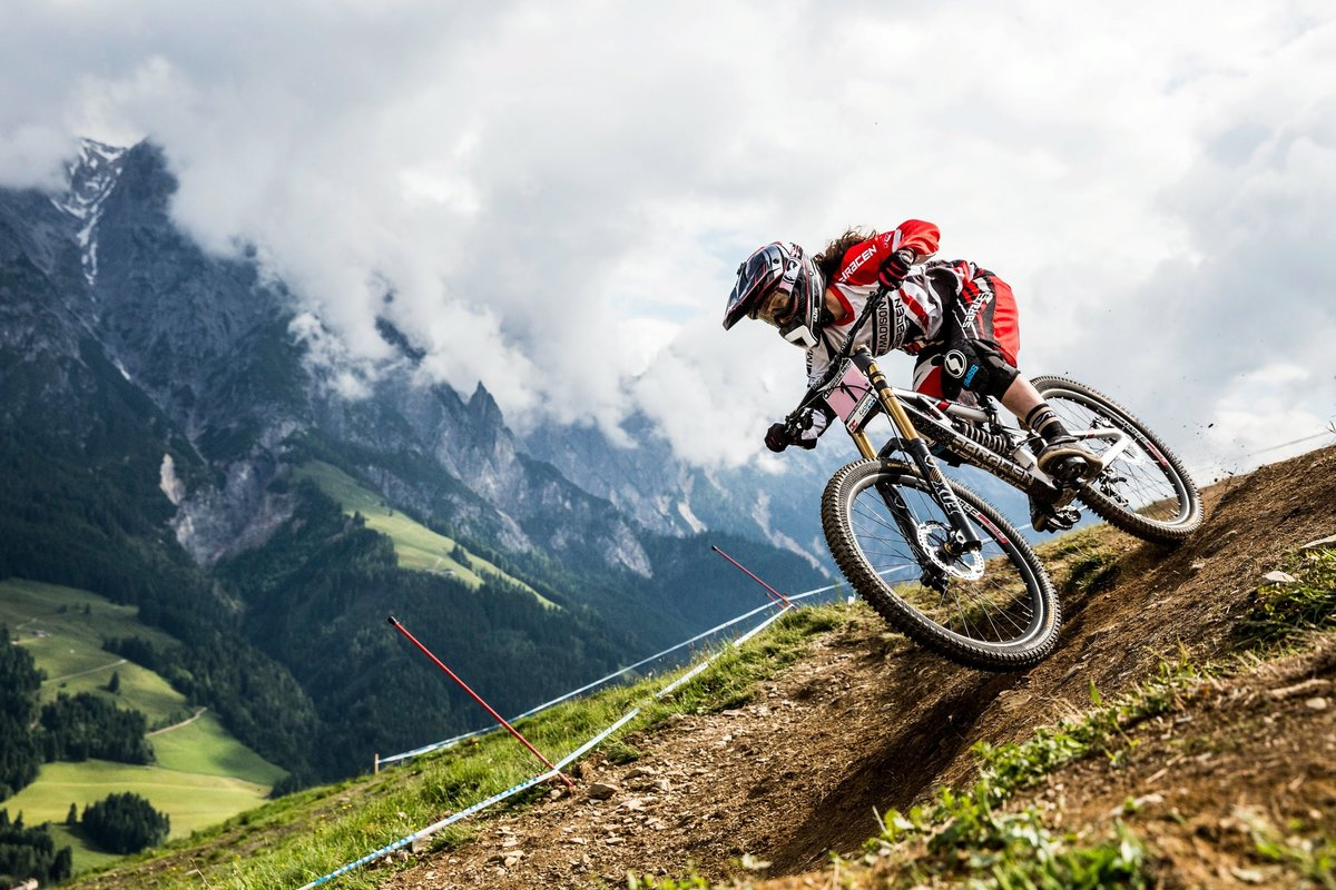 "downhill mountain biking - extreme - youtube - hd wallpapers"" — card"