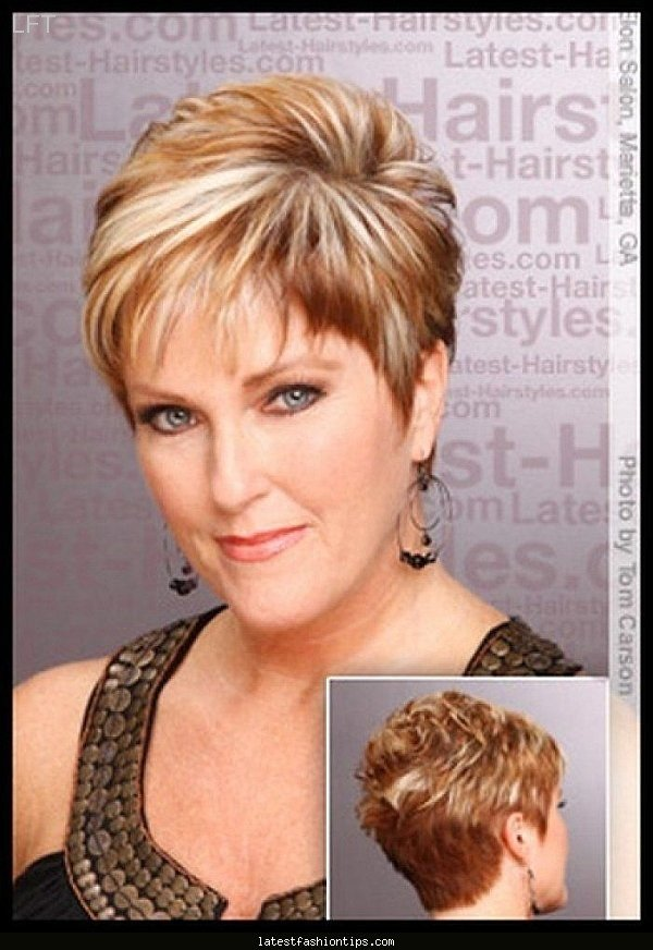 Short Hairstyles Over 50 With Glasses Latestfashiontips Card