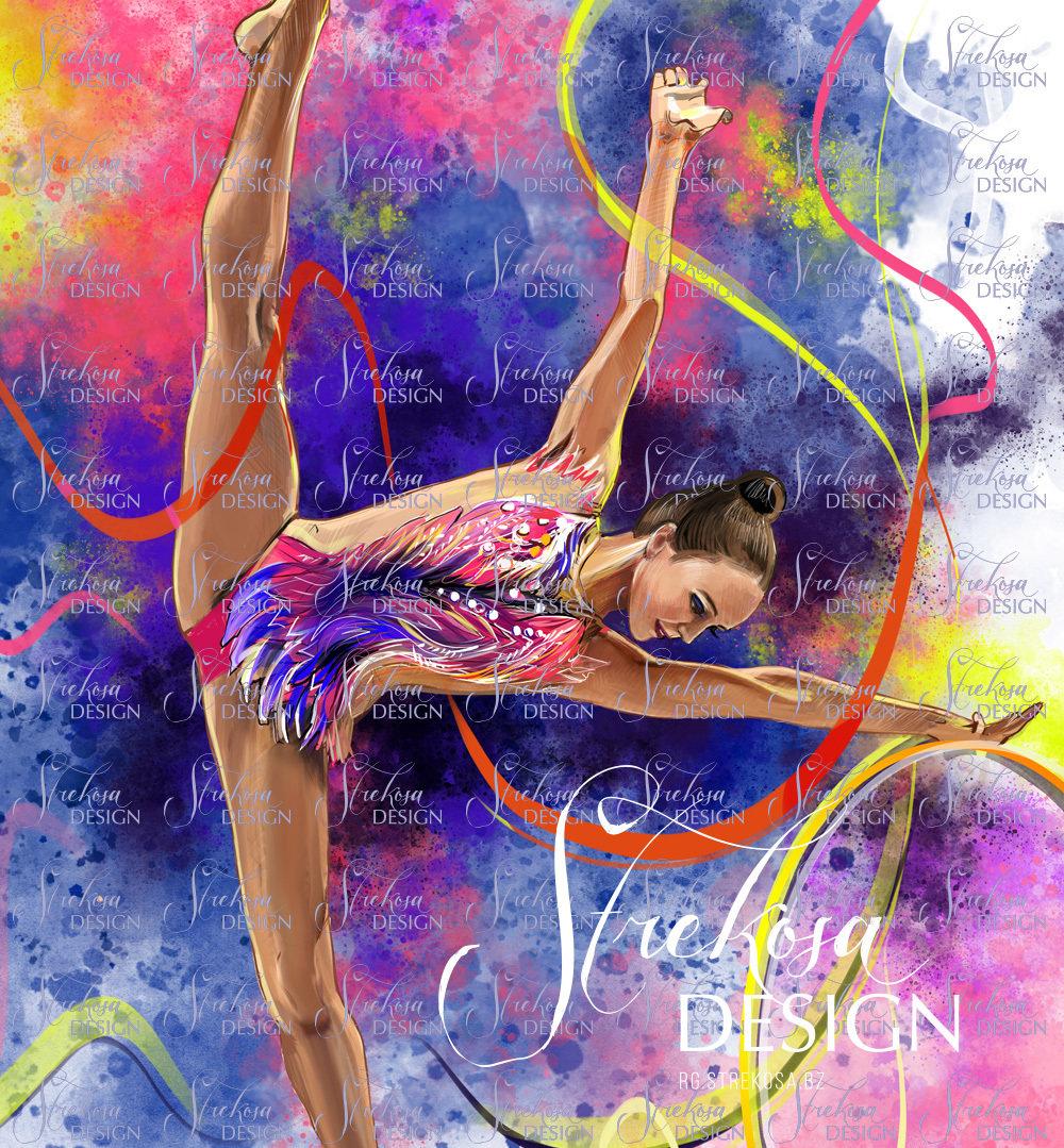Картинки с надписью художественная гимнастика