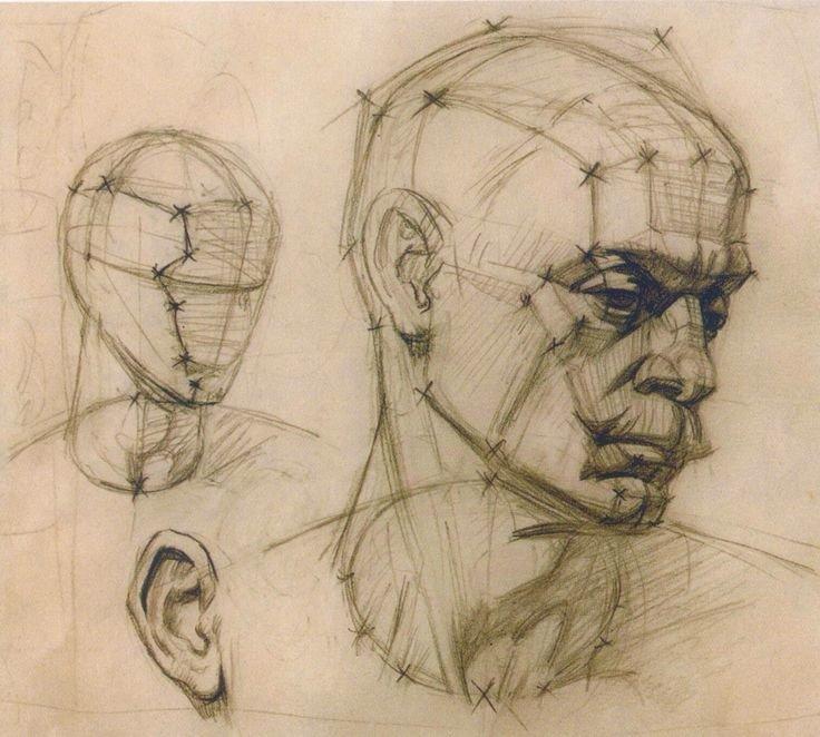 появлении рисунок головы человека картинки после снежинок колокольчиков