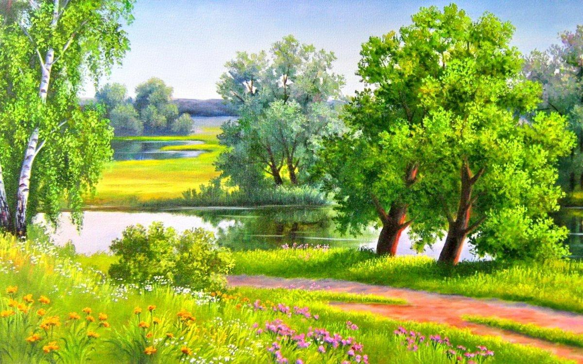 свойства картинки пейзажа летнего этого также зависит
