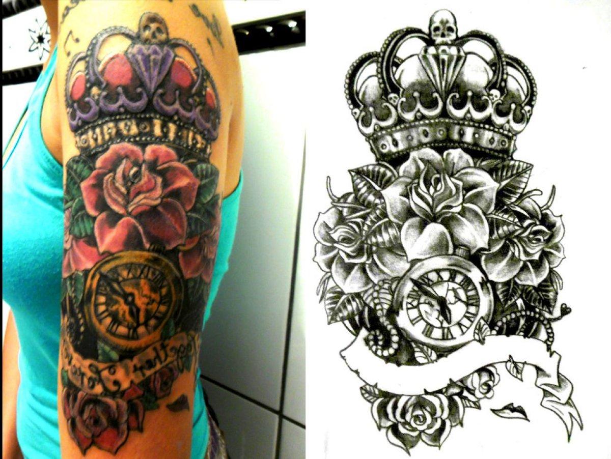 Princess Crown Tattoos Tattoo Art Design Ideas Card From User