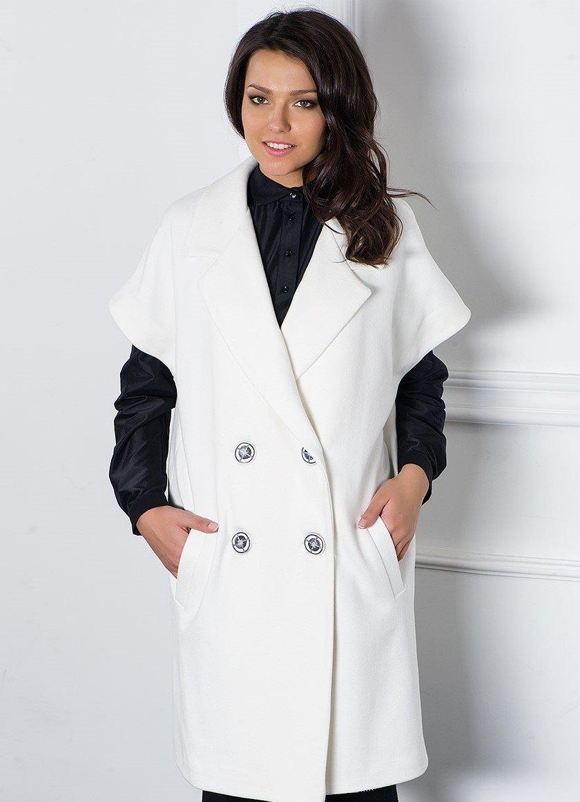 Красивое необычное женское пальто фото ручку деталь