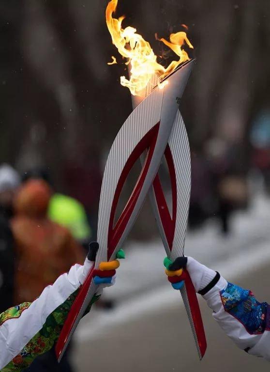 Картинка эстафета огня