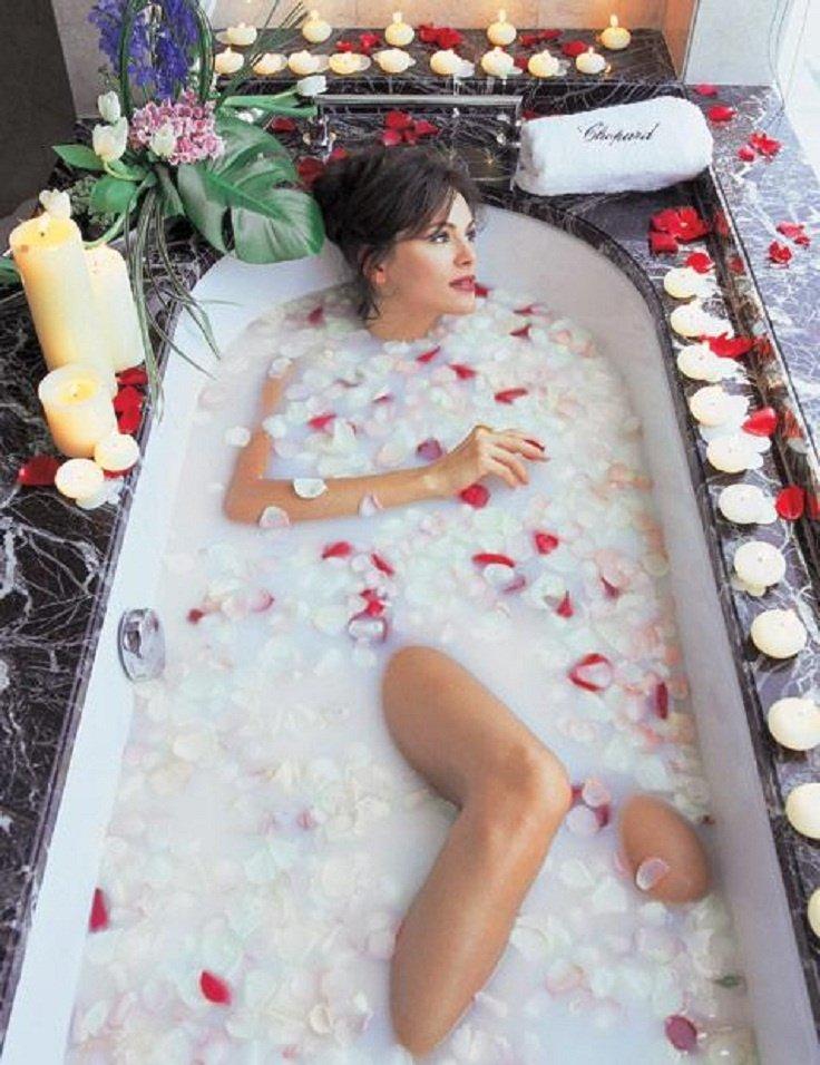 молочные ванны для похудения