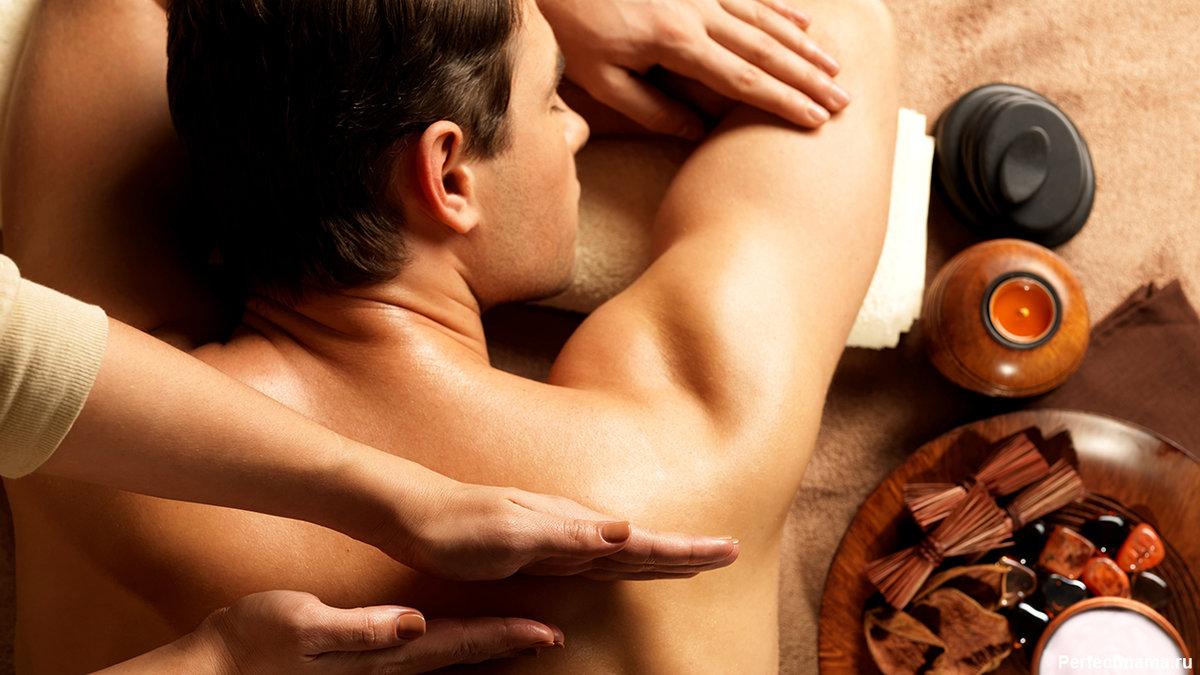 фото массажа как девушка делает нежатся