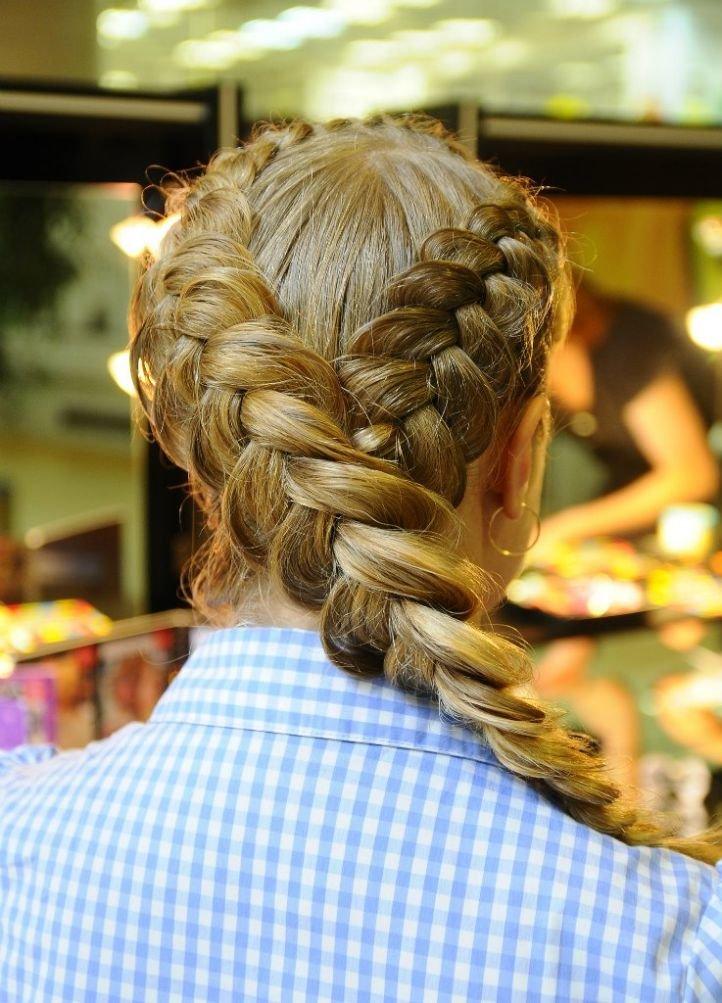 отмечает, картинки красивого плетения волос попались