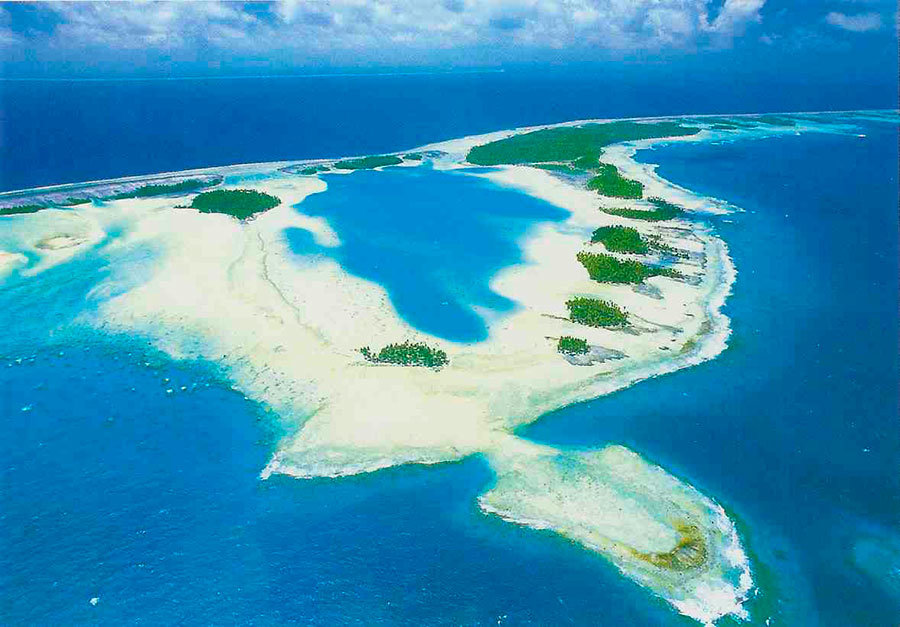 Bikini atoll real estate