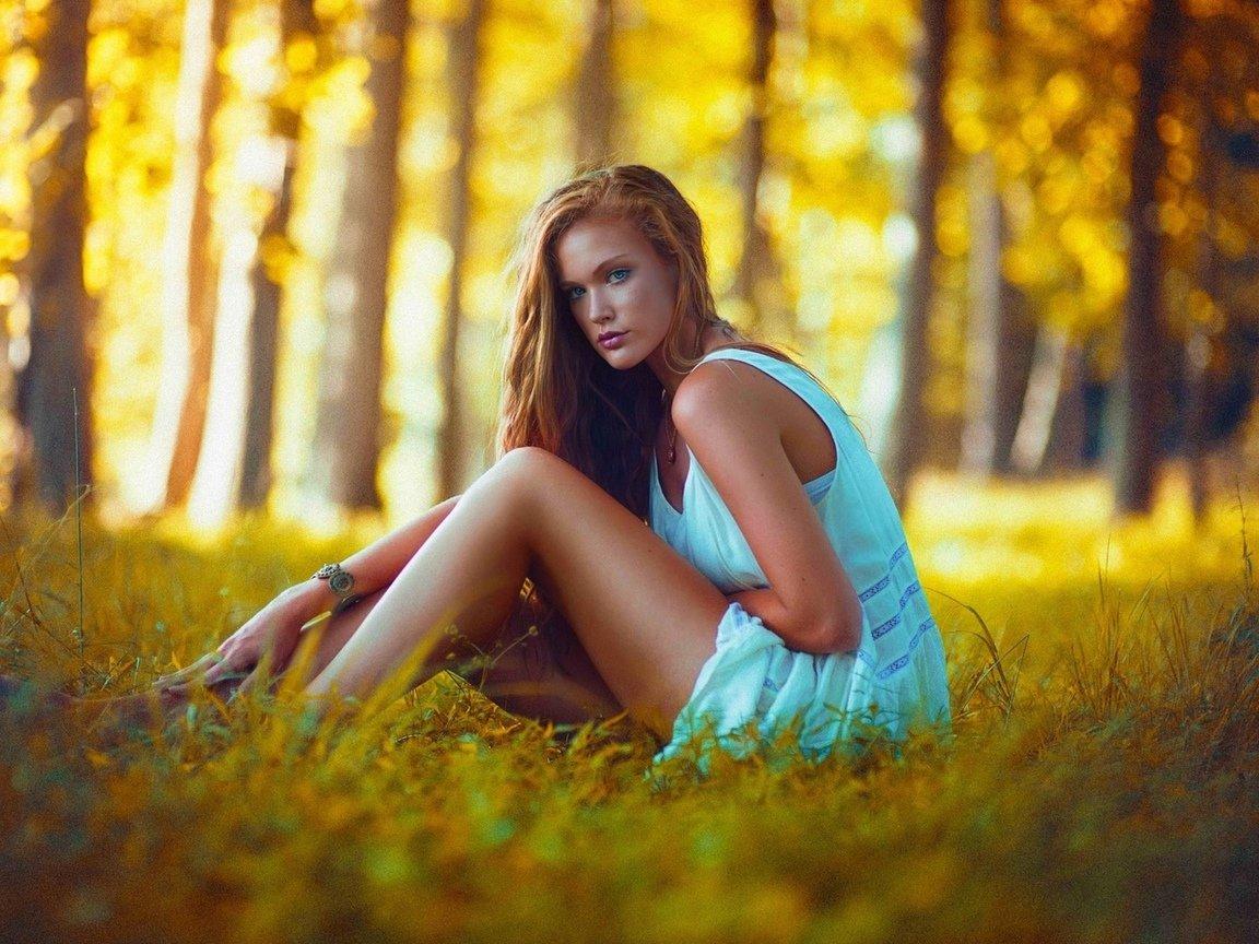 чаще всего женские позы для фотосессии в лесу летом следует