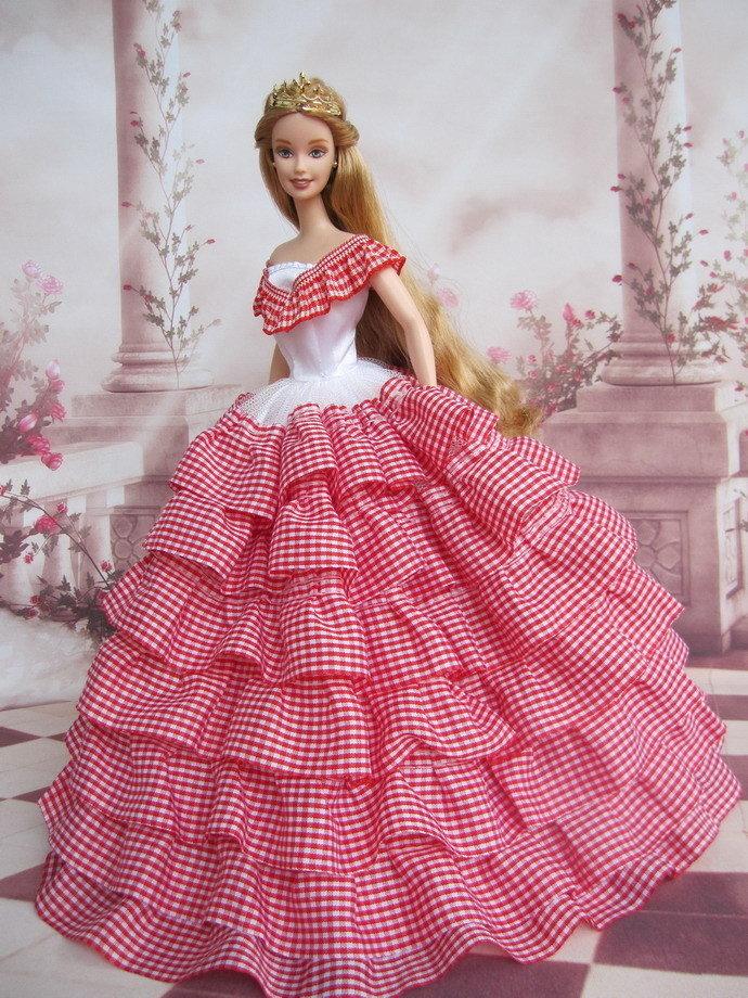 картинки платье своими руками барби того чтобы