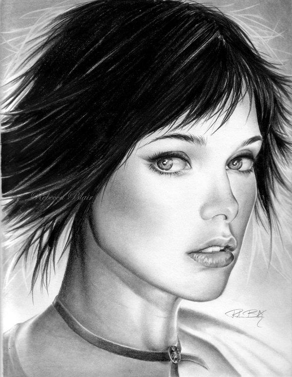 Поздравлением, картинки красивые девушки нарисованные