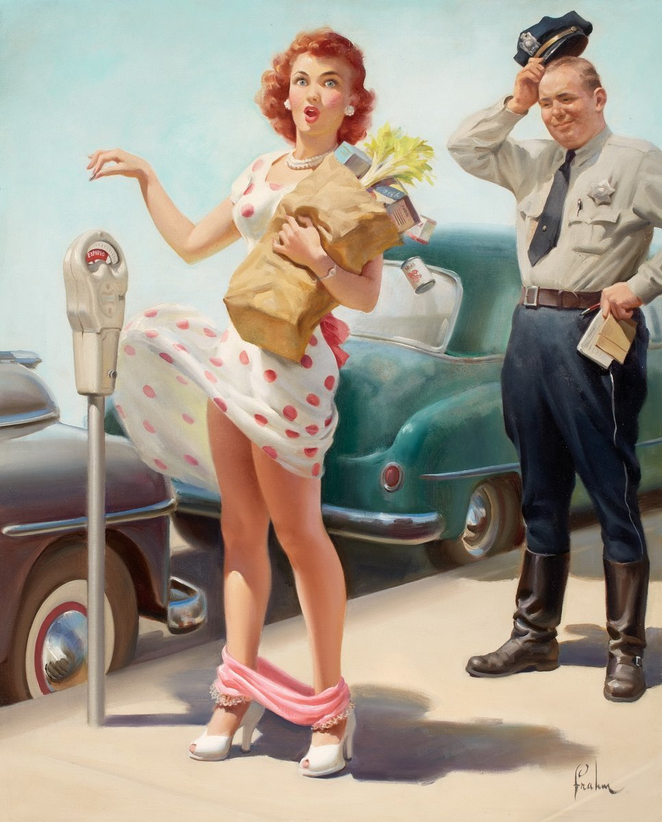 Картинки в американском стиле 50-х, память погибших