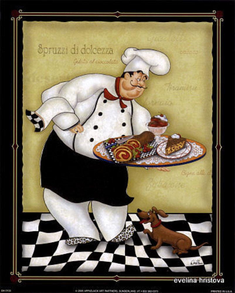 Картинки, прикольные картинки для декупажа на кухню