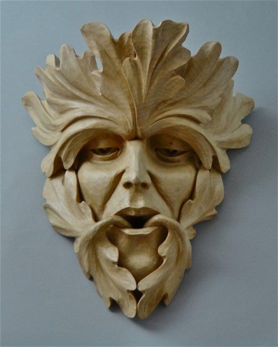 резьба по дереву маски фото