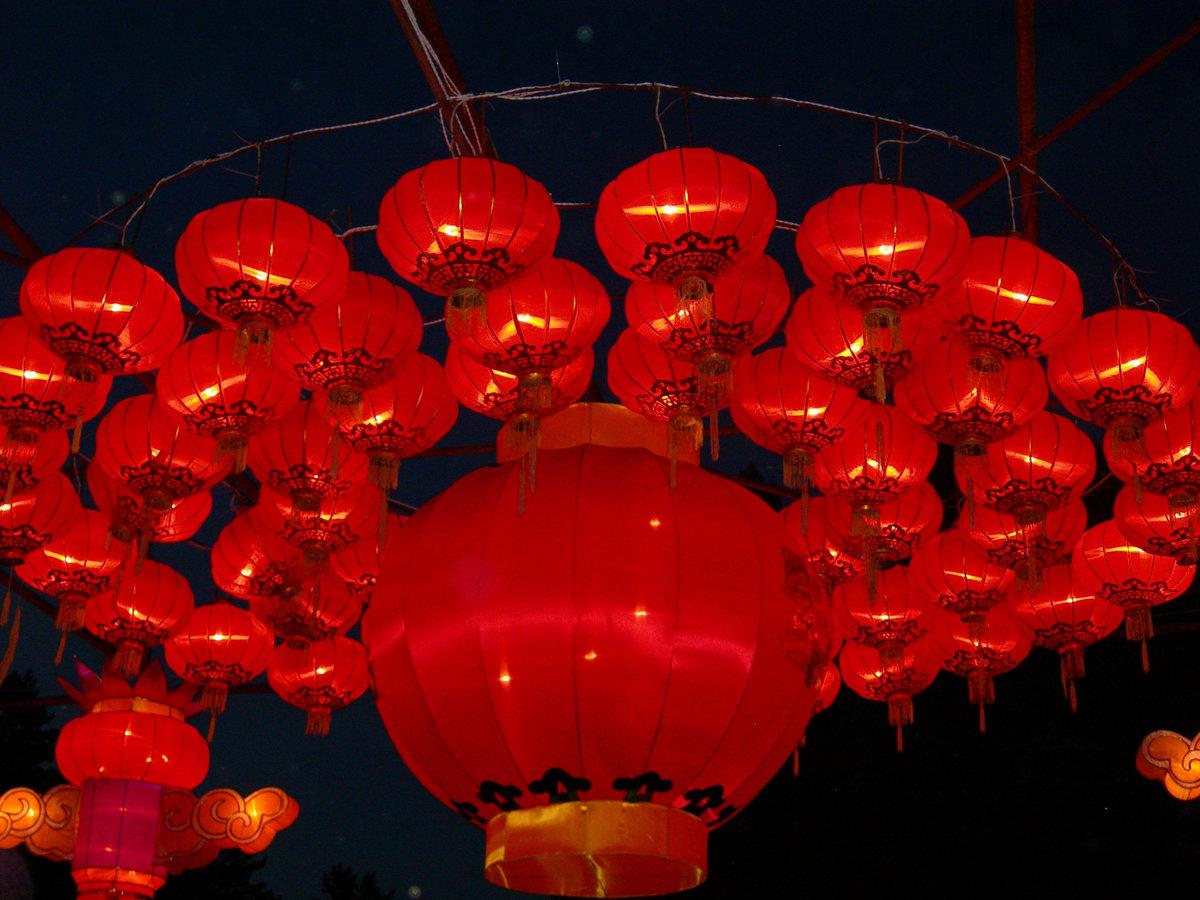 Картинка китайского фонаря