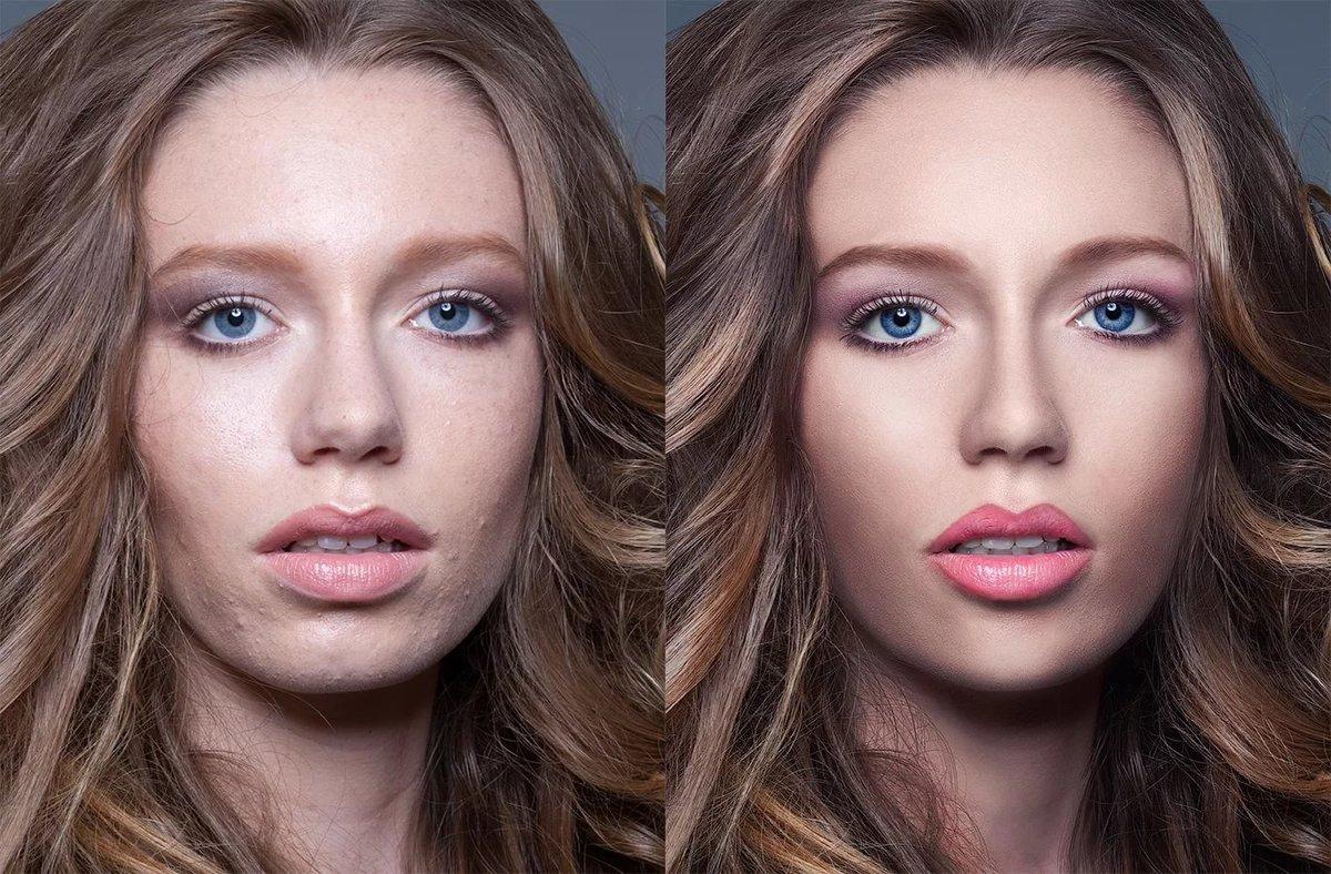 обработка фото с переливающимся эффектом фото