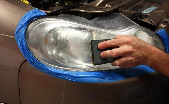 Полировка стеклянных фар своими руками фото 689