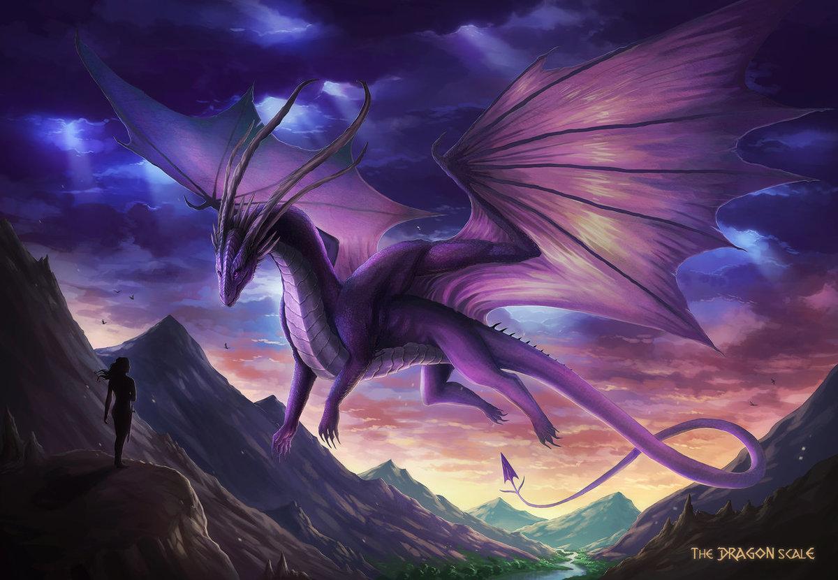 эффект картинка красивые драконы дело только вкусной