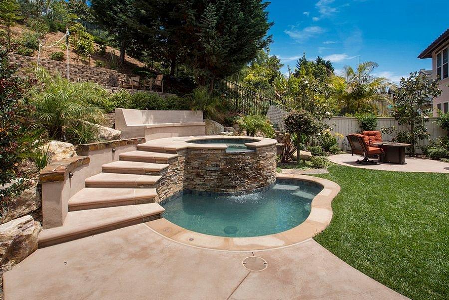 Бассейн для загородного дома фото