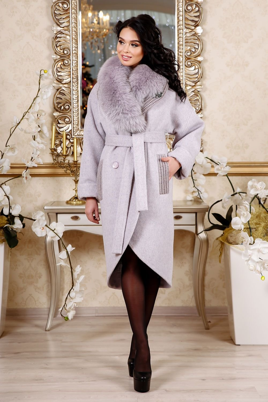 d682de988e7 Модное зимнее женское пальто каталог 2018-19» — карточка ...