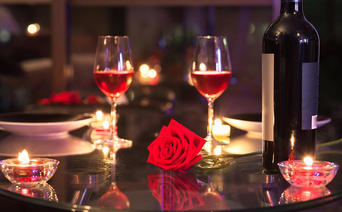Поздравительные, картинки романтический ужин при свечах на двоих дома