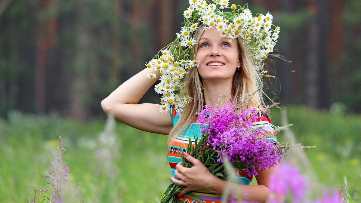 Картинки надписью, картинки женщина лето красивые