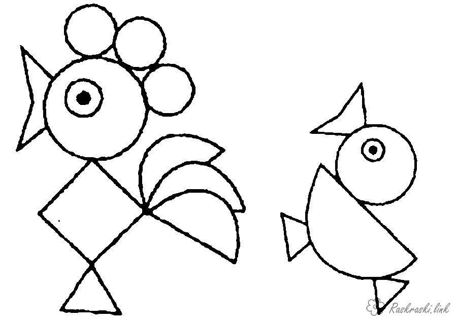 Картинки геометрических фигур нарисованных